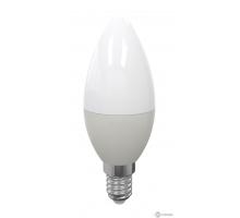 Лампа свеча на ветру LED C37 Е14 7W 2700K