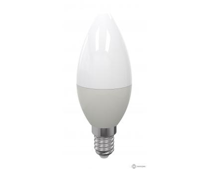 Лампа свеча на ветру LED C37 Е14 9W 4000K