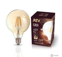 Лампа сд VINTAGE Filament шар G95 E27 7W, 2700K