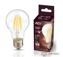 Лампа VINTAGE LED FILAMENT груша A60 E27 7W 4000K