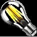 Лампа VINTAGE LED FILAMENT груша A60 E27 13W 4000K