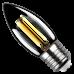 Лампа VINTAGE LED FILAMENT свеча C37 E27 7W 4000K