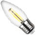 Лампа VINTAGE LED FILAMENT свеча витая TC37 E27 7W 4000K