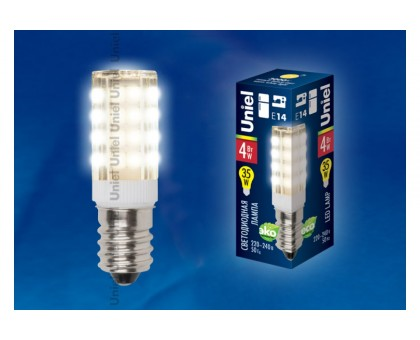 Лампа для швейных машин LED-Y16--4W/WW/E14CL PLZ04WH